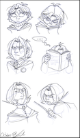 Snape: child to adult by gilll