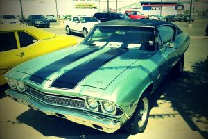 Chevy Chevelle by The-Comedian-Is-Dead