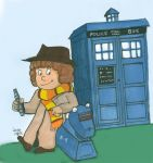 The 4th Doctor and K9 by LauraInglis