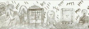 Doctor Who Doodles by sonickingscrewdriver