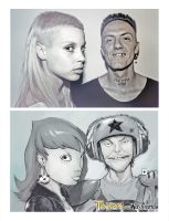 Die Antwoord and Tinkers by raultrevino