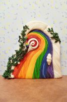 Create Your World fairy door by FlyingFrogCreations