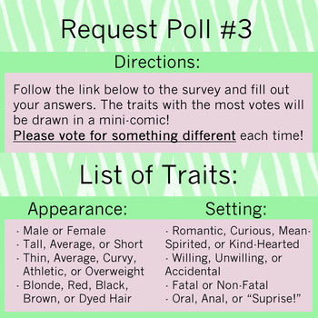 Group Request Poll #3 by AvoraComics