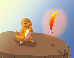 Charmander's Dream by GoldFlareon