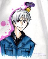 An OLD drawing of Prussia by Dreamweaver100