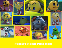 Pac-Man wallpaper by Ilovesonicandfriend