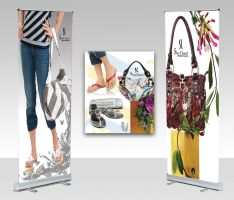 shoe channel roll up banner02 by shehbaz
