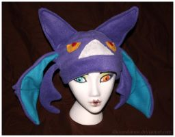 Crobat Hat by IceandSnow