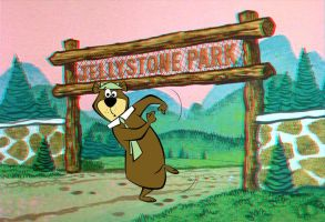 Yogi Bear Anaglyph/3D (From Flat Pictures) by AskGriff