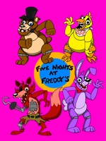 Five Night's at Freddy's by Weretoons101