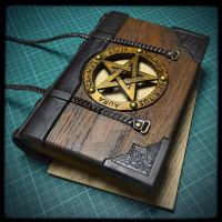 New The Necronomicon journal is on way... by alexlibris999