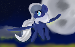 Moonbeam by SolarFlare-Solis