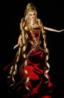 Agrippina the Younger OOAK Barbie doll by dakotassong