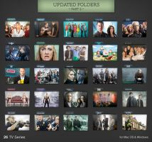 TV Series Folders Update 2 by paulodelvalle