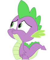 Spike Cute Face by PaulySentry