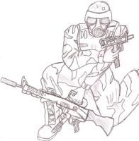 Army Spec-Op Soldier by 171Scorpia