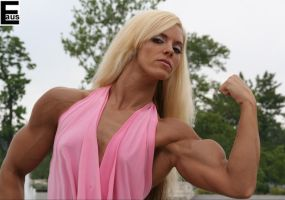Fitness bicep girl with attitude 2 by edinaus