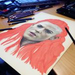 Ygritte Teaser Pencil Drawing by AtomiccircuS