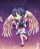 Indigo Angel (Chibi) by Novclow