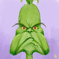 Daily Sketches the Grinch by fedde
