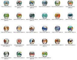 Adobe Apps XP Icons by jamest