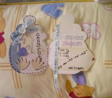 Diaper Cake Card-Inside by carmietee