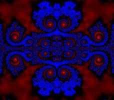 Chaos in Blue by Tangent101