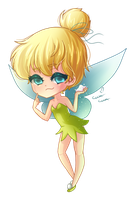 : Disney Doll : Tinkerbell by MissElysium