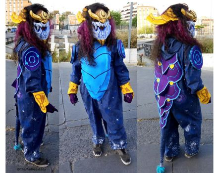 Aurelion Sol cosplay from League of Legends by TheMadnessLady
