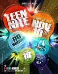 Teen Nite Flyer 2 by AnotherBcreation