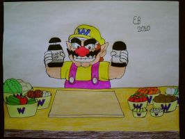 Wario's Slap Chop by shnoogums5060