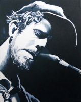Tom Waits by AzureMosquito