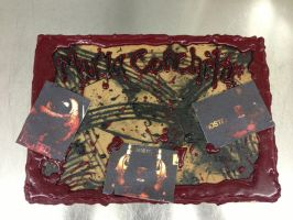 Hostel Cake- Finished by Spudnuts