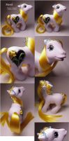 March birthflower pony by Woosie