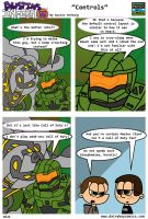 Halo 4 Controls by DairyBoyComics