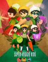 Super Veggie Kids by ERDJIE