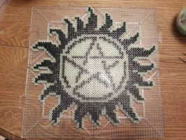 supernatural protection symbol by karintel