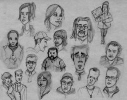 Caricatures by 0SkyerS0