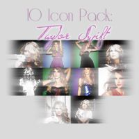 Icon Pack - Taylor Swift. by dieegormz