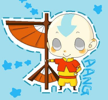 Aang - Happy Birthday, Ally by Utsubushi