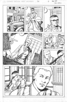 Pencil pages samples 5 by ivancortezvega