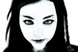 Amy Lee from Evanescence by Cougar28