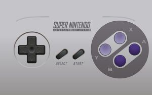 SNES Controller Wallpaper by Doctor-G