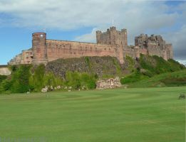 Bamburgh Castle UK by Hansmar