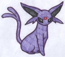 Espeon by Sunfall16