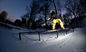 Snowboard session by DoubbleD