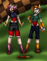 Amy and Tails TG TF p3 by AkuOreo