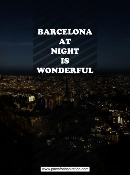 Barcelona at night is wonderful by jaumeestruch