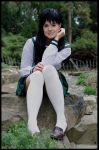 Kagome cosplay by WhiteRaven00