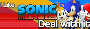 I Like Sonic Heroes by darkfailure
